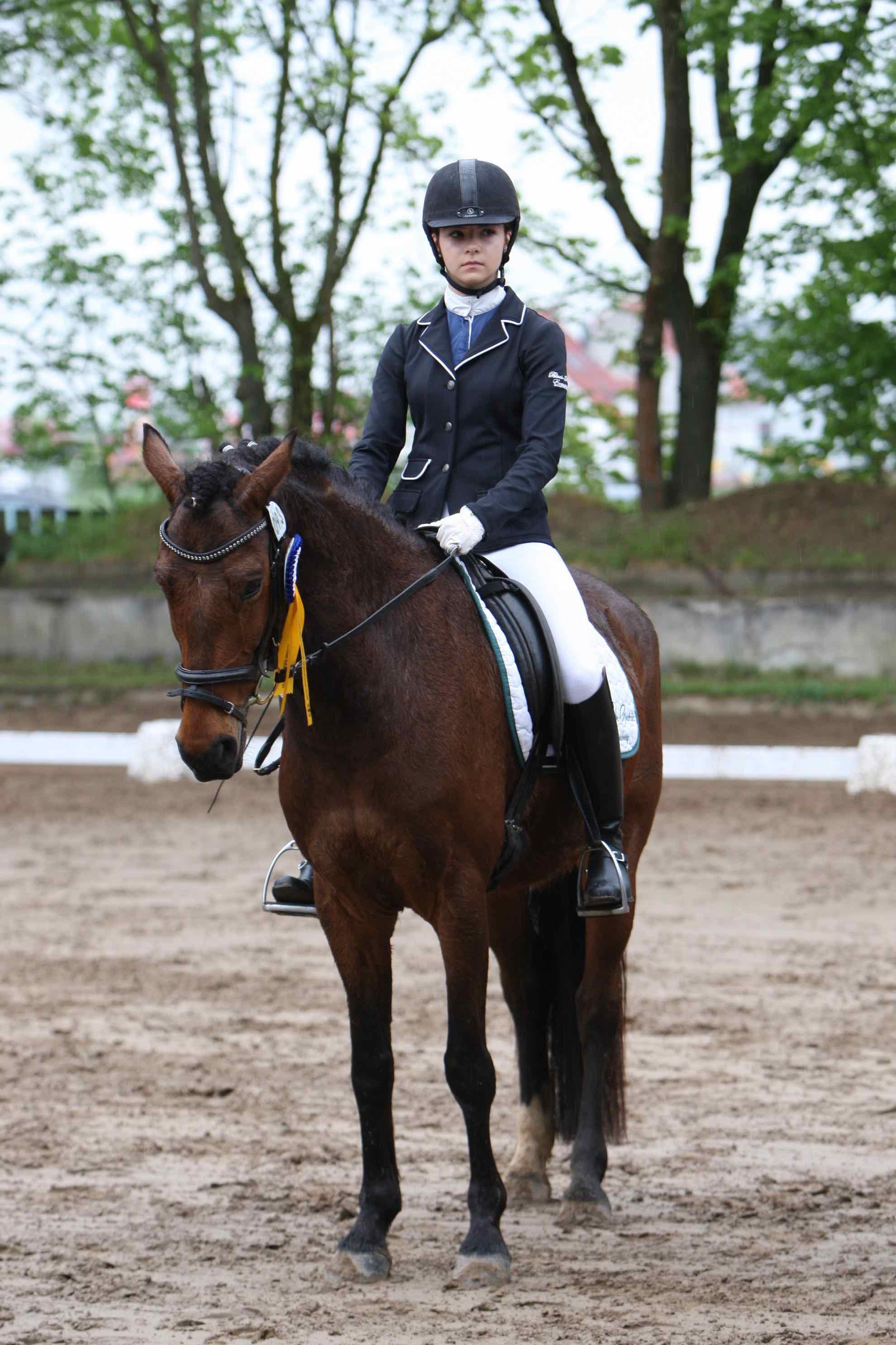 Prüfung 22 Komb. Wettbewerb - 1. Platz - Antonia Kircher auf  Esmeralda del Leccione - RUF Pfungstadt e.V.