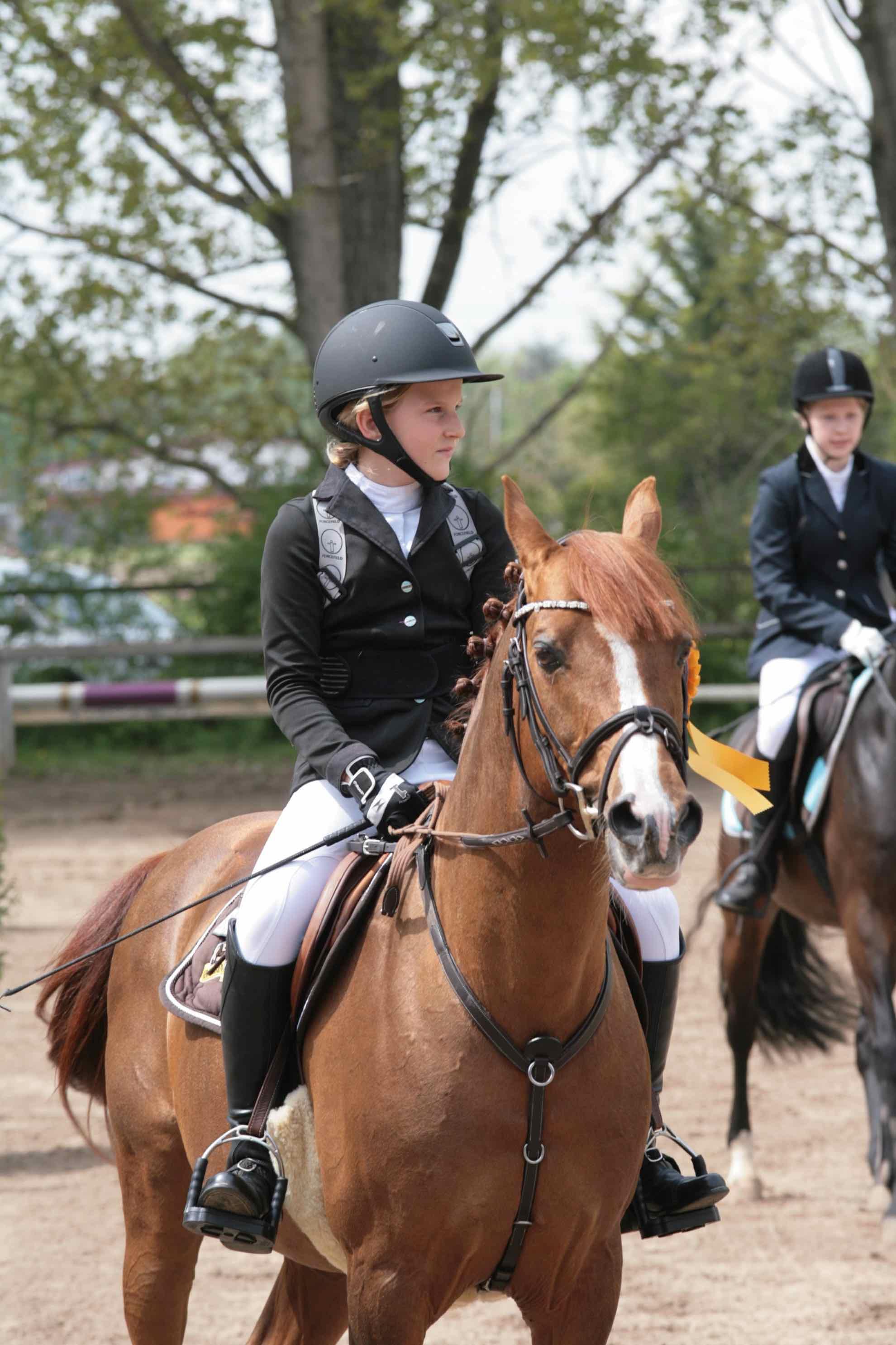 Prüfung 25 Springreiter Wettbewerb - 1. Platz - Antonia Kircher auf High Hope 3 - RUF Pfungstadt e.V.