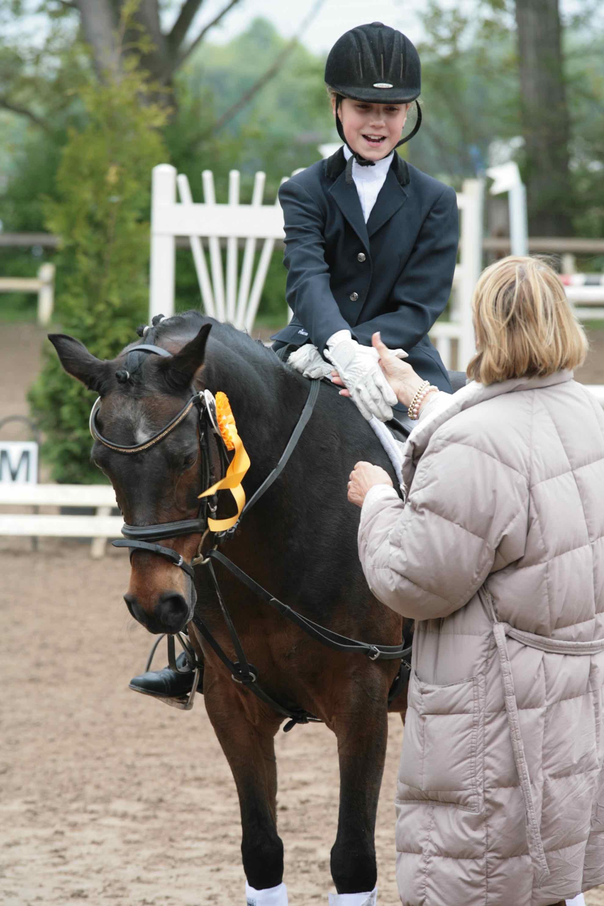 Prüfung 28/2 Reiterwettbewerb für Ponys - 1. Platz - Leoini Ruhstorfer auf Jappeloup - RFV Griesheim e.V.