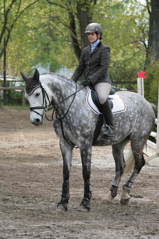 Prüfung 8 - Hunterklasse 95er - 1. Platz - Ulrike Ingeborg Gallina auf Calita H
