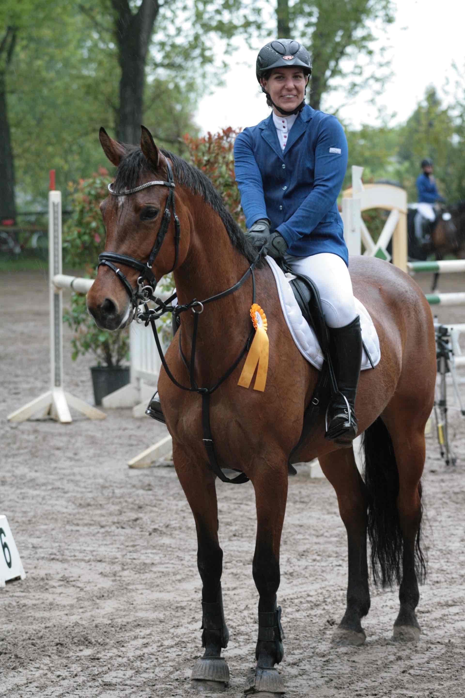 Prüfung 9 - Springprüfung Kl.L m.Siegerrrunde - 1. Platz - Sandra Phillips auf La Jolie 60 - RG Rüsselsheim-Bauschheim e.V.